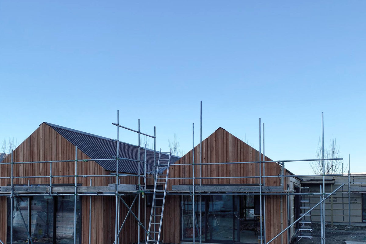 Wanaka New build in progress - by Niche Design & Construction